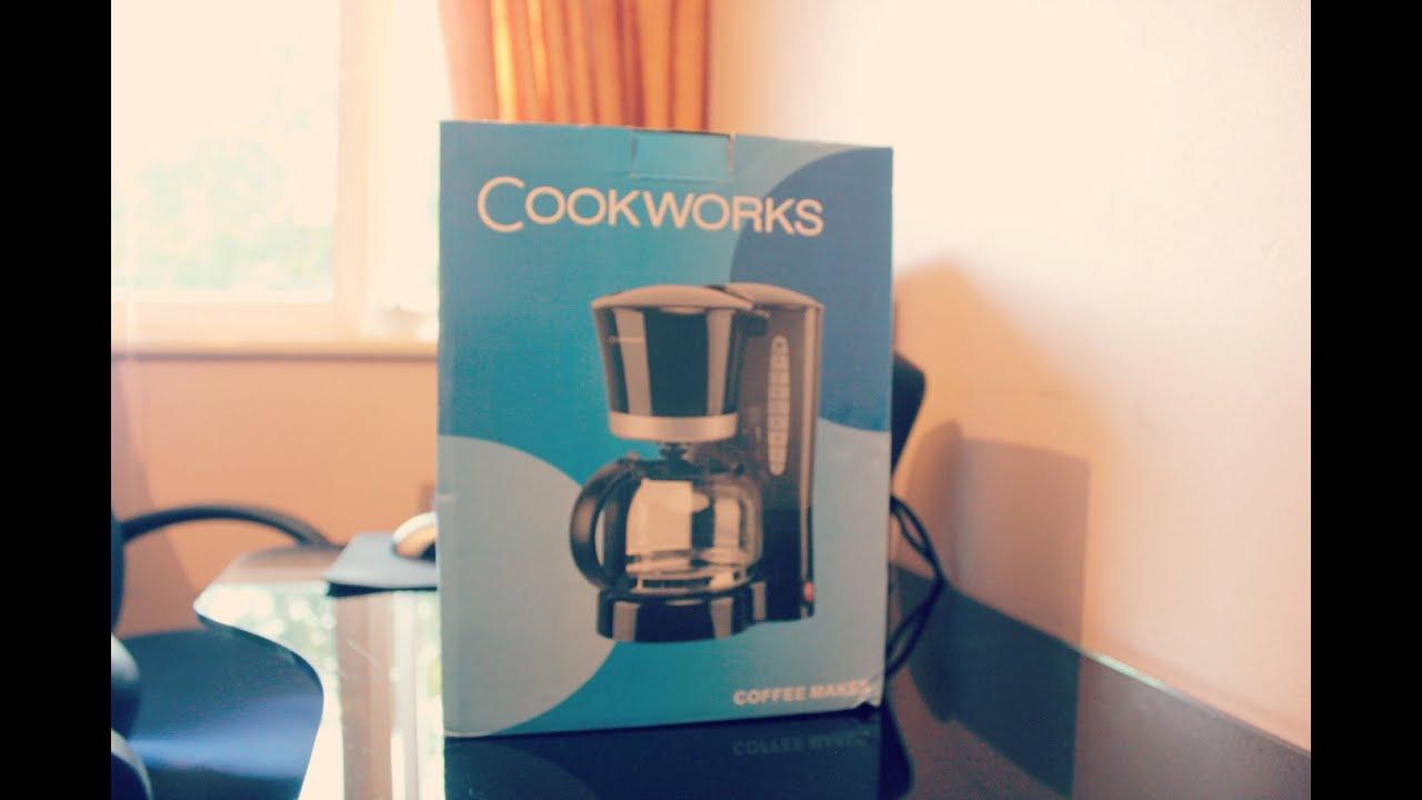 Cookworks Cm2021j Filter Coffee Maker Unboxing