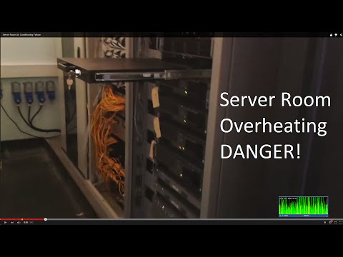 Server Room Air Conditioning Failure (Warning)