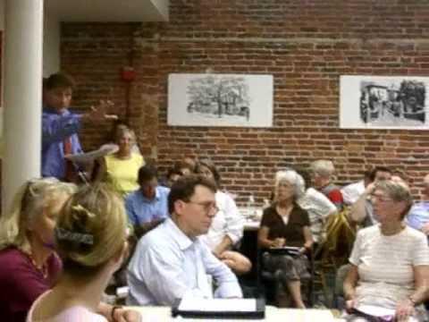 Traffic Commission Meeting 1: Alderman shut up