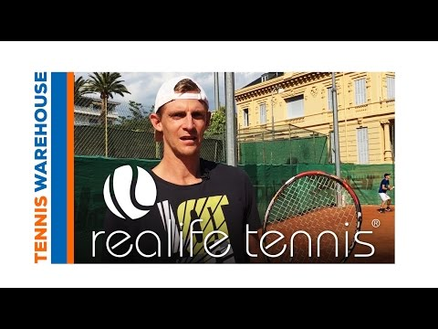 An Effective Warm Up With ATP Player Kevin Anderson And Realife Tennis