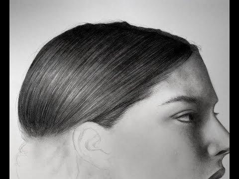 Come disegno i capelli - Time Lapse Drawing #6