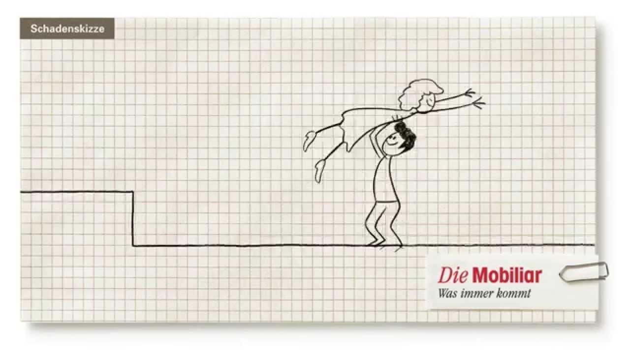 Animierte Schadenskizze Der Mobiliar Dirty Dancing