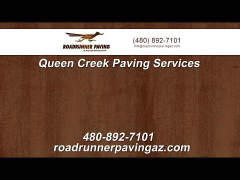 Queen Creek Paving and Asphalt Services