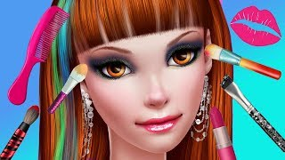 Stylist Teen Girl Makeup, Fashion Dress Up Beauty Nail Salon Makeover Kids & Girls Games
