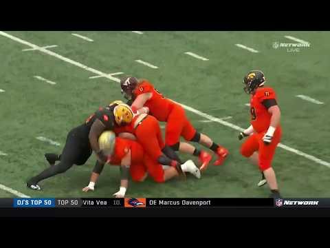 2018 Senior Bowl - South Team Defense Vs North Team Offense