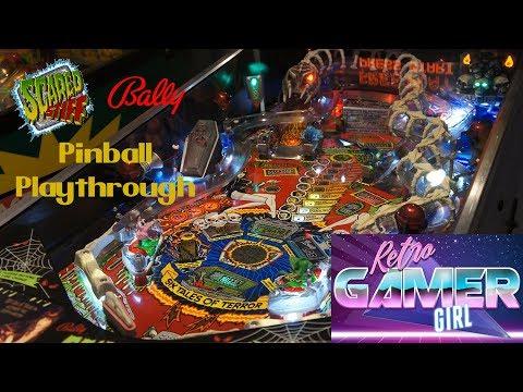 Scared Stiff Pinball Playthrough Pinnie Collector Australia | Retro Gamer Girl