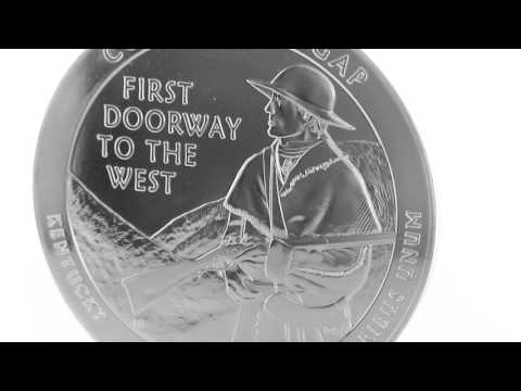 APMEX  Silver Coins | 2016 5 oz Silver ATB Cumberland Gap National Historical Park, KY