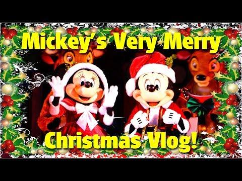 Mickeys Very Merry Christmas Vlog  Magic Kingdom