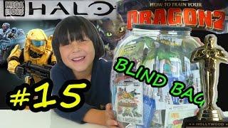 Blind Bags Weekly 15 – Oscars Nominee How To Train Your Dragon 2 Halo Spongebob Frozen Figures