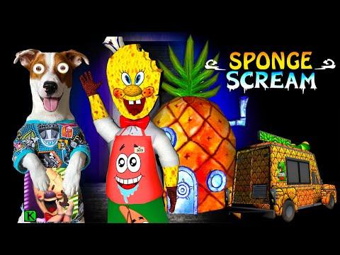 Собака играет в МОРОЖЕНЩИК это СПАНЧБОБ 👀 ICE SCREAM SpongeBob MOD 👀