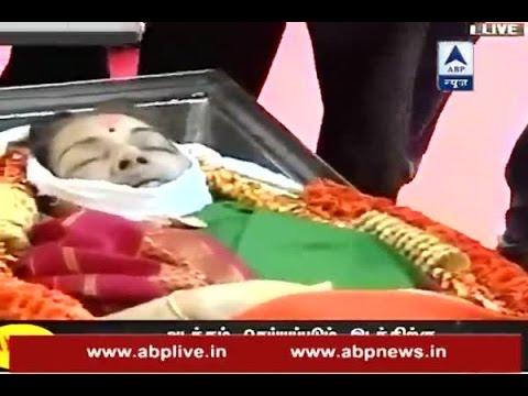 Alvida Amma: Jayalalithaa's funeral procesion reaches Marina beach