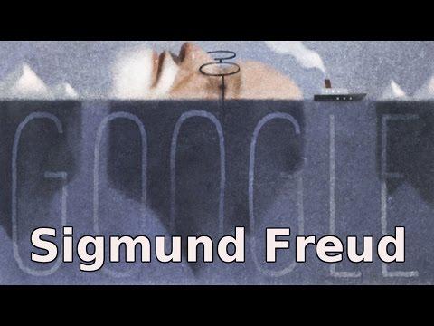 Sigmund Freud Google Doodle. 160th Birthday of Father of Psychoanalysis