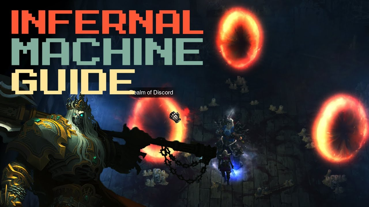 Infernal machine guide get your ring farm on youtube.