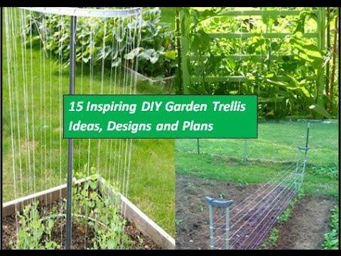 10 Inspiring Diy Garden Trellis Plans Designs Ideas