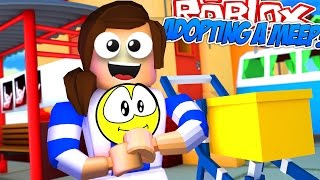 Roblox Meep Stadt | LITTLE CARLY ADOPTS Ein BABY!!