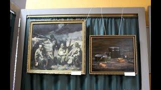 Югоосетинские художники представили свои полотна, посвященные миротворцам