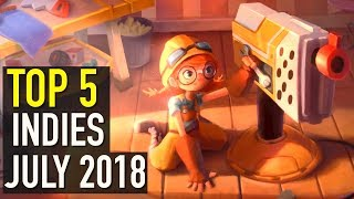 Top 5 Best Looking New Indie Games to Watch  - July 2018