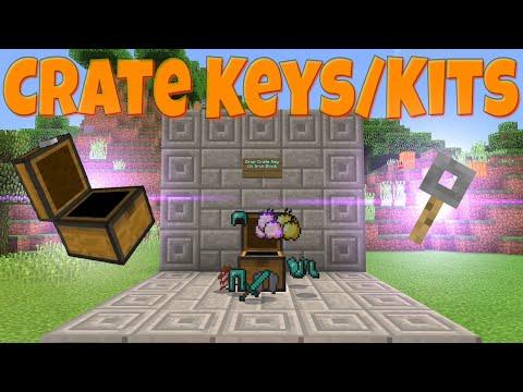 Minecraft (Bedrock) - Command Block Crate Keys/Kits