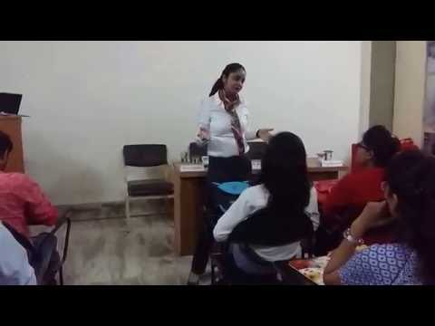 Surbhi Manocha - A talk with the students of Poddar Institute , Jaipur