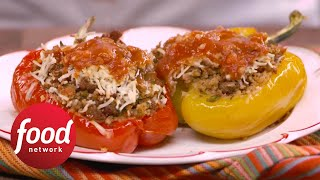 Sweet and Sour Stuffed Peppers  Food Network