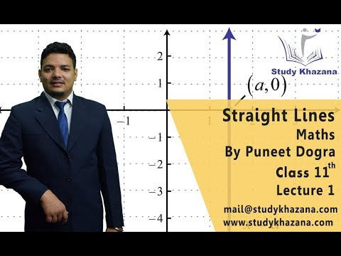 Straight Lines, Class 11th Mathematics by Puneet Dogra