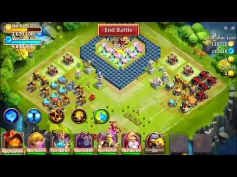 Castle Clash: Grimfiend Vs Skull Knight