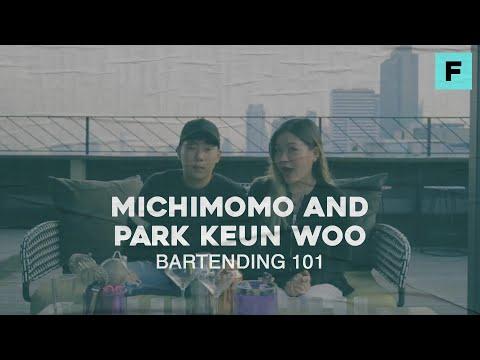 Michimomo And Park Keun Woo: Bartending 101