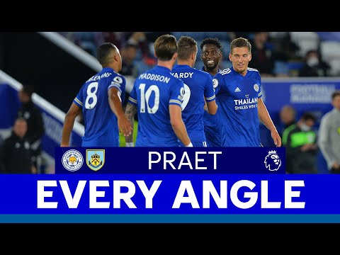 EVERY ANGLE | Dennis Praet Goal vs. Burnley | 2020/21