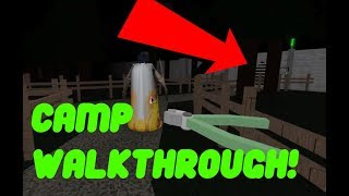 Camp Walkthrough!!! Roblox Granny