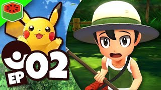 SWARMED IN THE FOREST! | Pokemon Let's Go Pikachu! #2