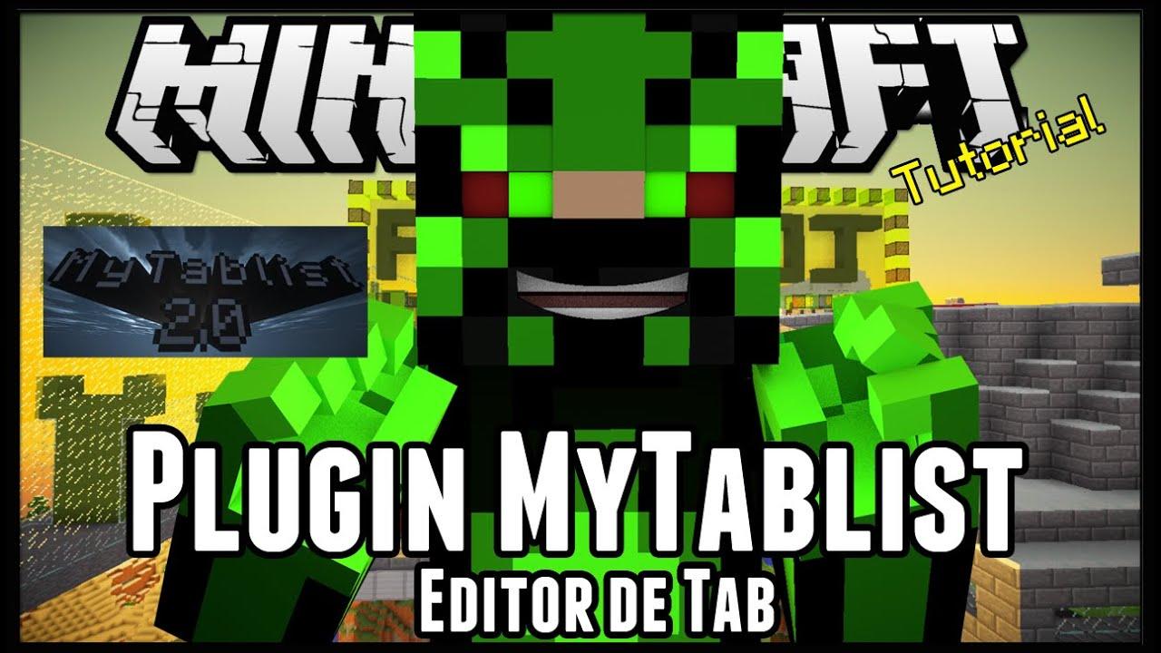 Plugin MyTablist - Editor de Tab Minecraft