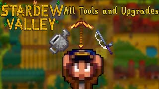 Stardew Valley: All Tools and Upgrades