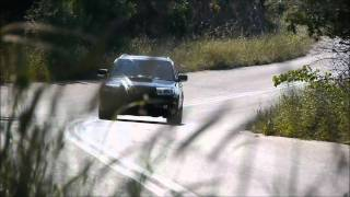 450hp subaru forester in tarmac testing bc racing coilovers