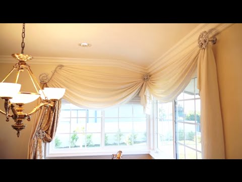 How To Make Any Room More Elegant With Window Treatments: 3 Simple Steps |  Galaxy Design Video #105