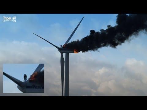 Top 5 Kecelakaan Pada Turbin Angin