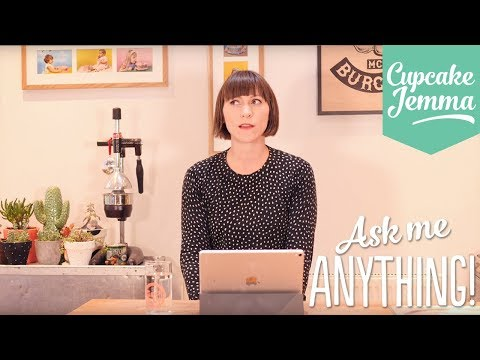 Ask Me Anything #3 - ANSWERS!   Cupcake Jemma
