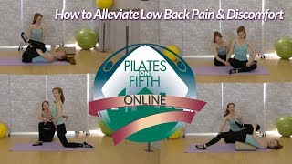 How to Alleviate Lower Back Pain and Discomfort