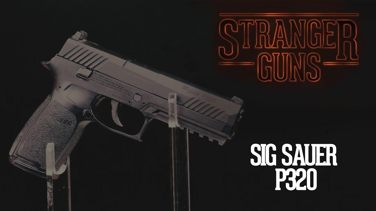 SIG Sauer P320 Pellet Pistol, Black