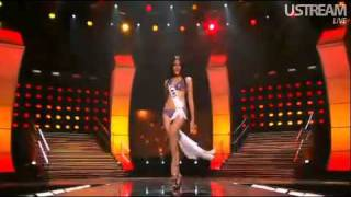 Miss Universe 2010 Preliminary Competition Miss Thailand (Fonthip)