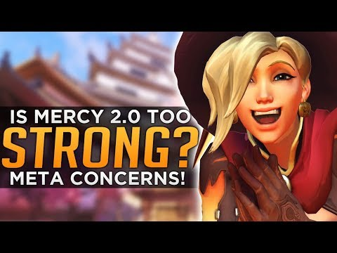 Overwatch: Is NEW Mercy 2.0 Too STRONG!? - Meta Discussion