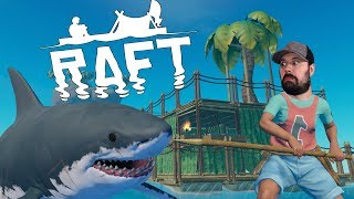 RAFT STEAM Release Hype | RAFT Survival Gameplay | S2 E1
