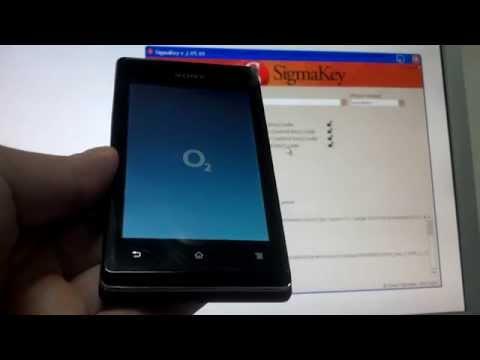 Sony Xperia E C1505 unlock with Sigmakey