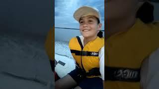 Regreso de pescar con agus