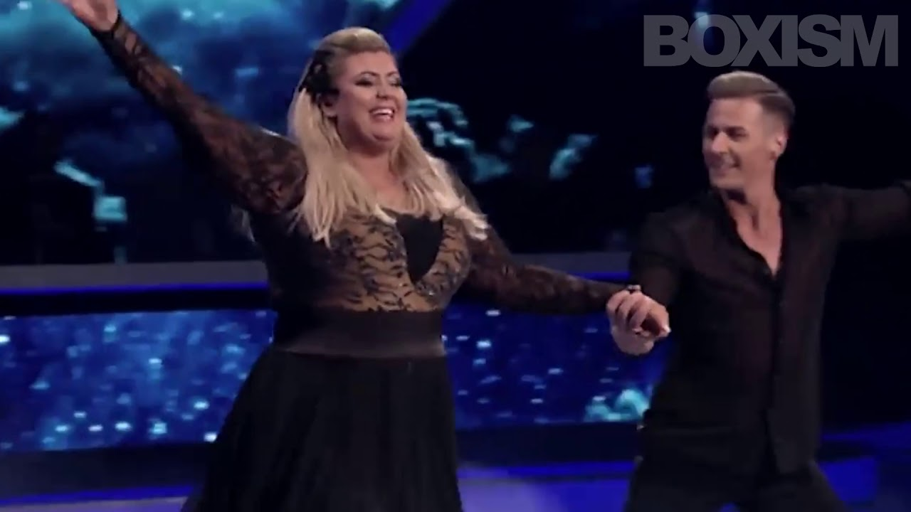 Download Gemma Collins - Tyson Fury (Dancing On Ice - Falls and gets back up!)