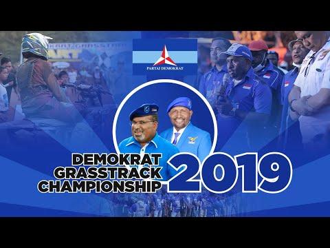 Demokrat Papua Gelar Ajang Grasstrack Championship 2019 Memperebutkan Uang Ratusan Juta Rupiah