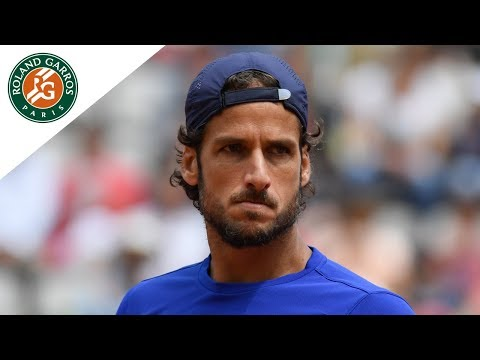Feliciano Lopez - Top 5 Best Shots   Roland-Garros 2017