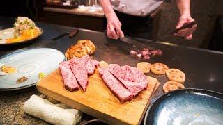 €320 di vera carne di Kobe A5