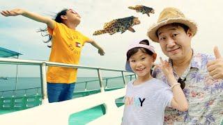 라임 가족의 푸꾸옥 남부 호핑투어 스노쿨링 체험 |베트남여행 | @매직킹 LimeTube