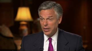 Jon Huntsman talks China, speaks Chinese