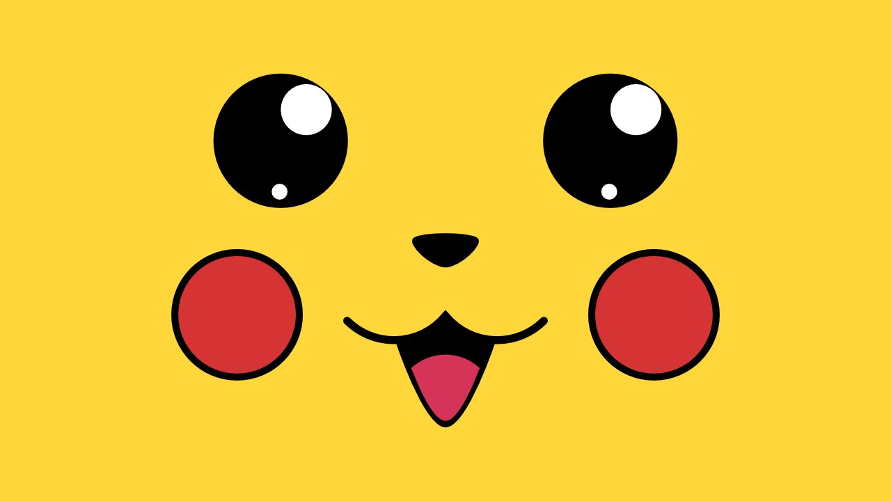 How To Draw A Pikachu Wallpaper In Inkscape